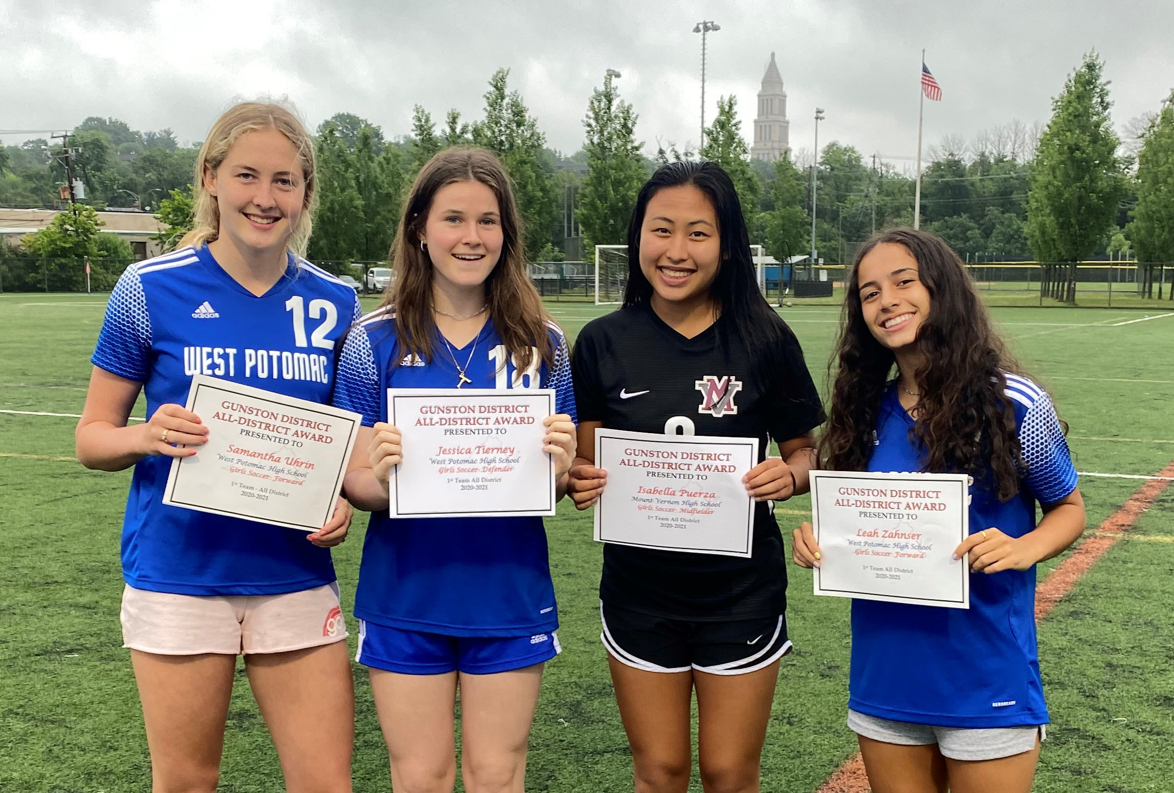 Gunston players dominate HS All-District teams!