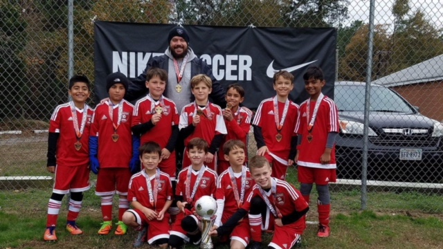 2009 Boys Red Team Capital Fall Classic Champions
