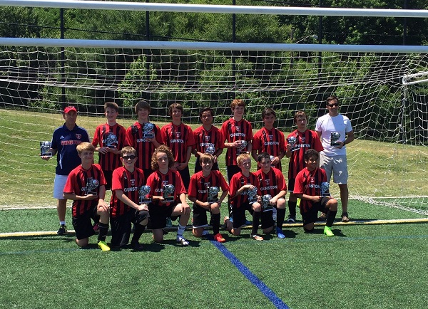 U14 Boys Suburban Friendship League Champions